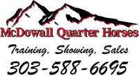 McDowall Quarter Horses